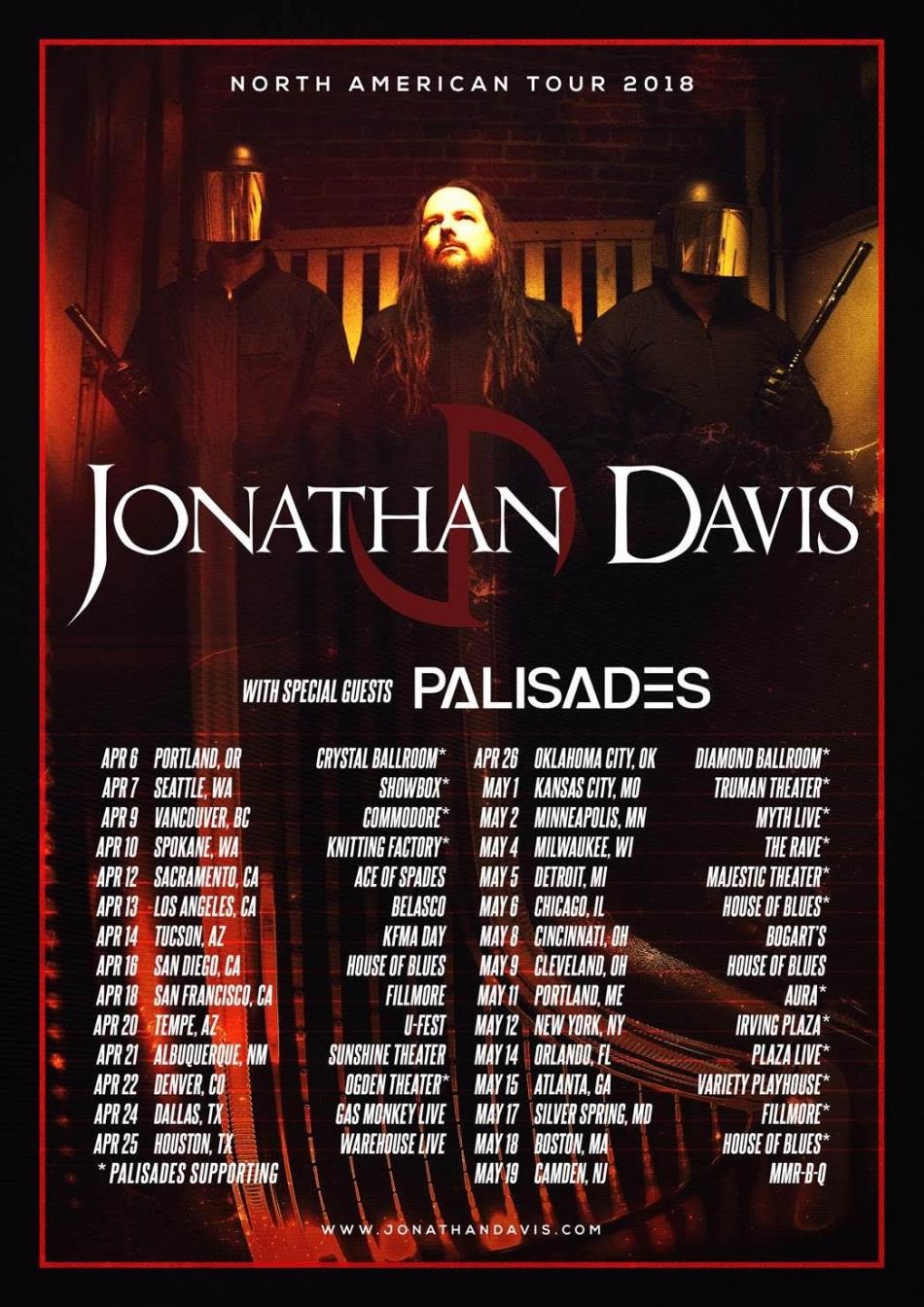 J DAVIS PAL TOUR