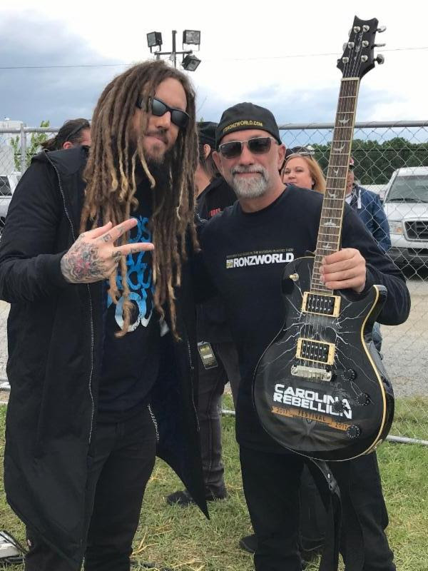 RON WILLIAMS WITH BRIAN WELCH