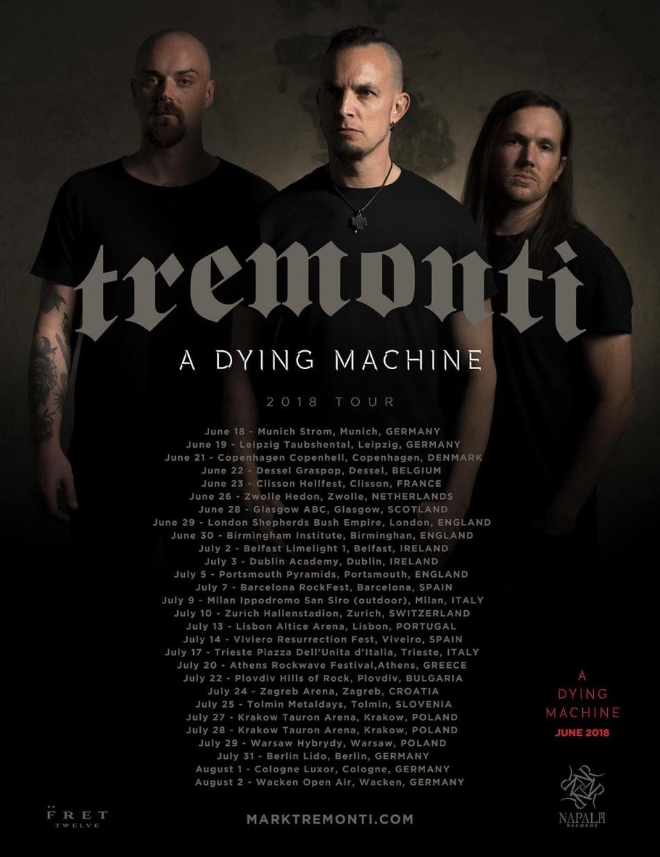 TREMONTI TOUR
