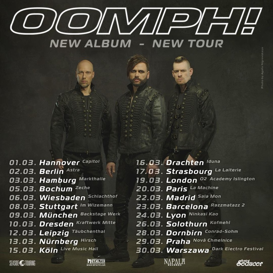 OOMPH TOUR